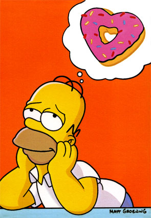 Basically what I do every moment, but change the donut to 'all kinds of food'.